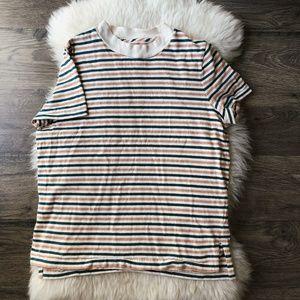 Madewell Short Sleeve Retro Striped T-Shirt sz S